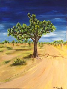 the Joshua tree signed